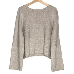 Oak + Fort Oversized Drop Shoulder Sweater